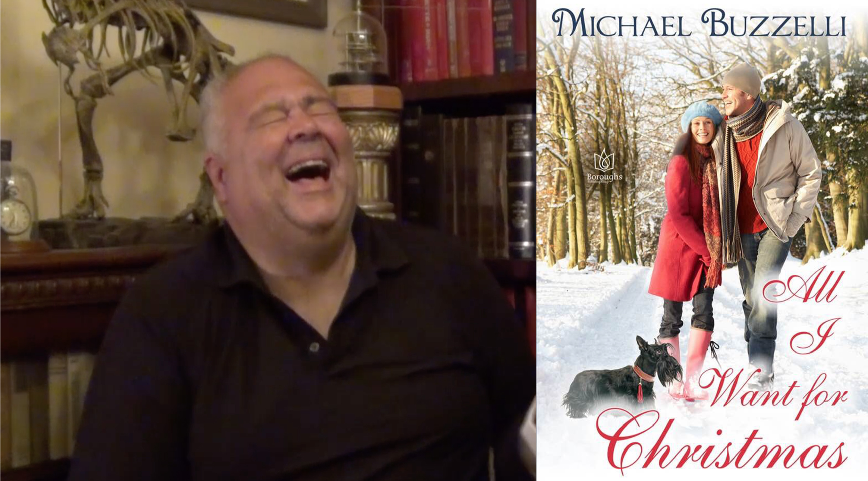 MICHAEL BUZZELLI – Author, ALL I WANT FOR CHRISTMAS